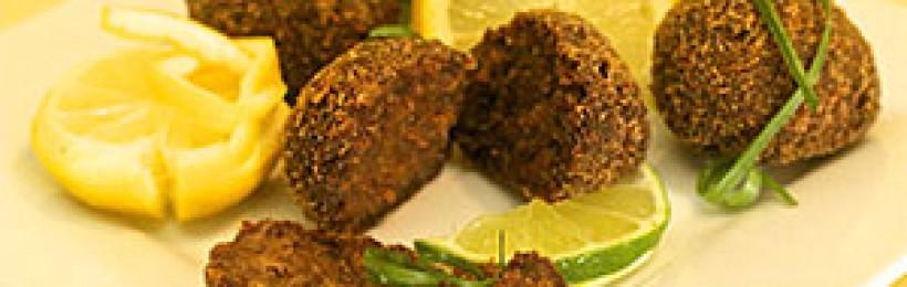 boulettes de viande à la panure pain d'épice pruneaux-noix-armagnac